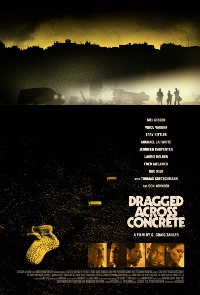 Dragged Across Concrete Movie Poster