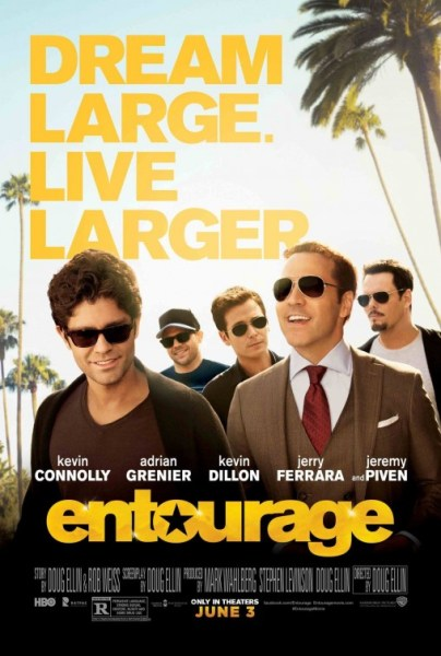 entourage new poster
