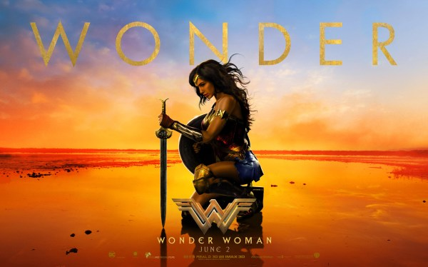 Gal Gadot Wonder Woman Movie - June 2017