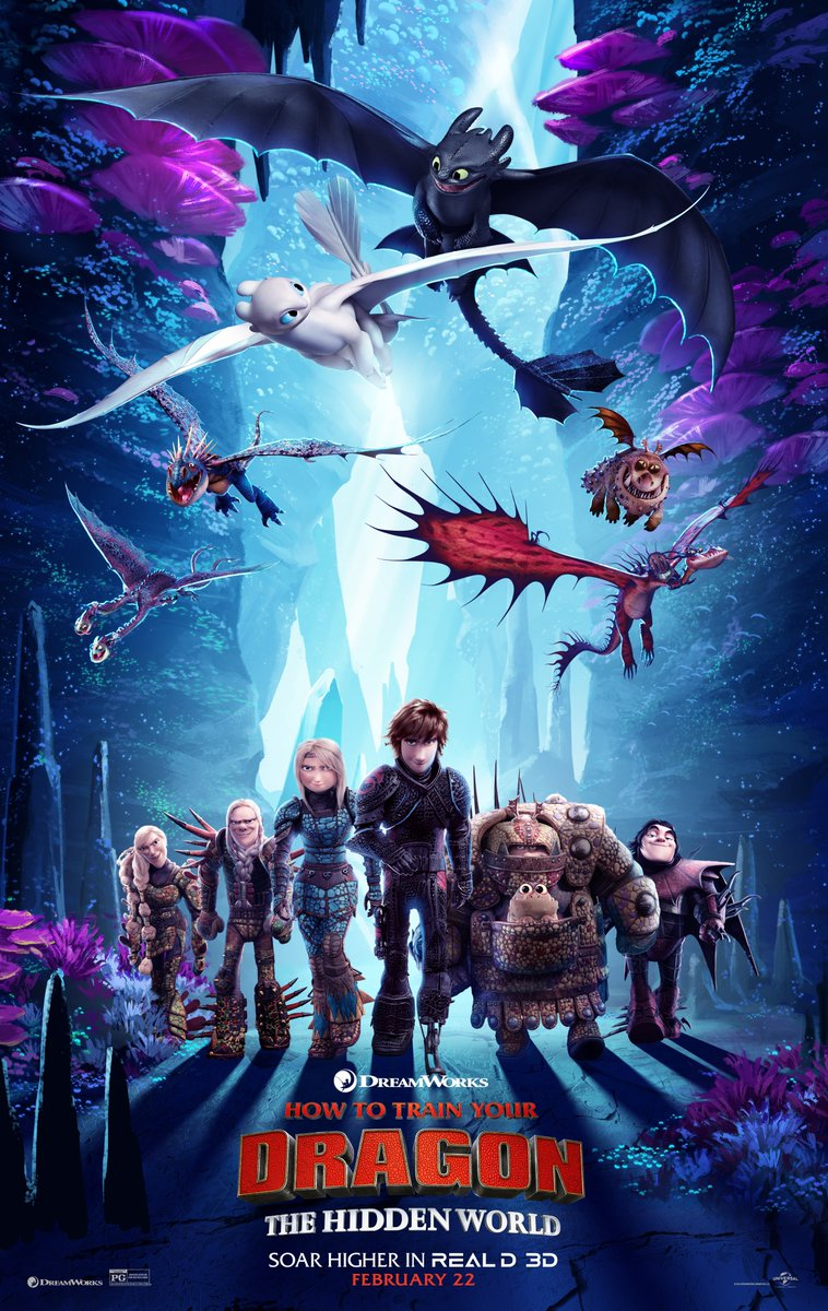 How To Train Your Dragon 3 Teaser Trailer