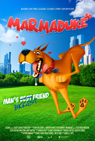 Marmaduke Teaser Poster