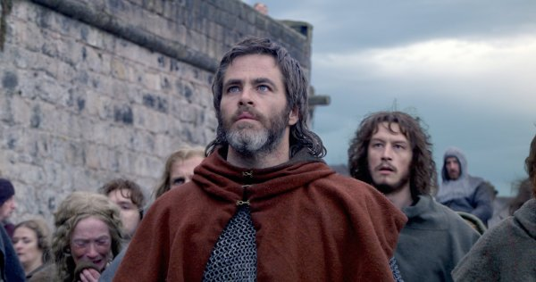 Outlaw King Movie 2018 - Chris Pine