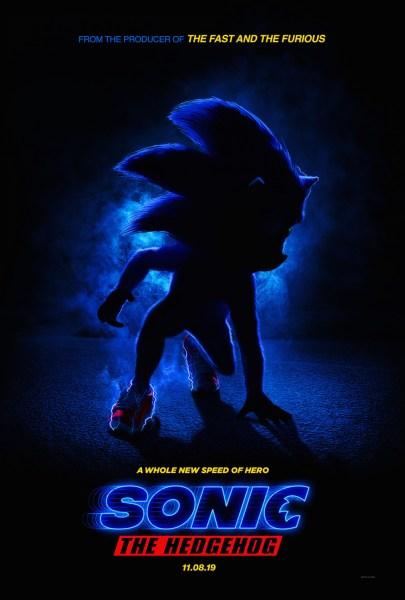 Sonic The Hedgehog Movie Teaser Poster