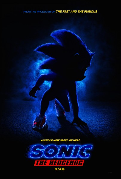 Sonic The Hedgehog Movie Teaser Poster