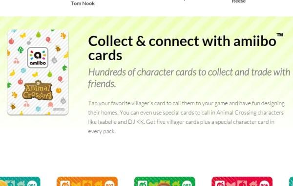 amiibo アミーボ カード どうぶつの森ハッピーホームデザイナー