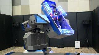 コクピットが動くライド系大型VR機器「VRON」がマジで面白そう