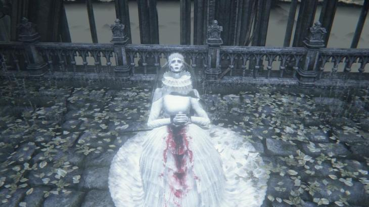 ヤーナムの女王 メンシスの悪夢 Bloodborne ブラッドボーン