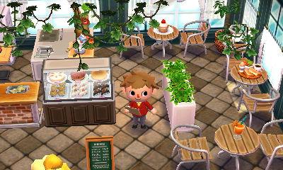 カフェ どうぶつの森ハッピーホームデザイナー