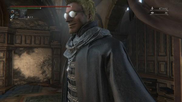 HELLSING アンデルセン神父 キャラメイク ブラッドボーン Bloodborne