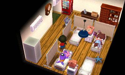 病院 病室 どうぶつの森ハッピーホームデザイナー
