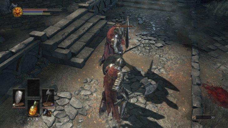 ロスリック騎士って盾持ってるし強くない?