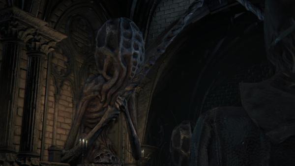 アメンドーズの像 ブラッドボーン Bloodborne