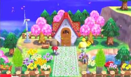 庭造り どうぶつの森ハッピーホームデザイナー