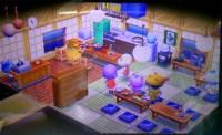 【ハピ森】畳に上がれる感じの定食屋にした【どうぶつの森ハッピーホームデザイナー】