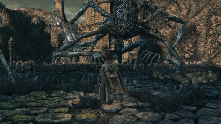【ブラッドボーン】アメンドーズ強い強いと思ったけど、懐潜り込んだらクルクル回りながら足踏みするだけになるんだな【Bloodborne】