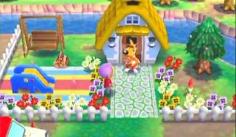 庭造り2 どうぶつの森ハッピーホームデザイナー
