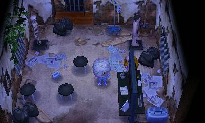 怖い部屋 どうぶつの森ハッピーホームデザイナー