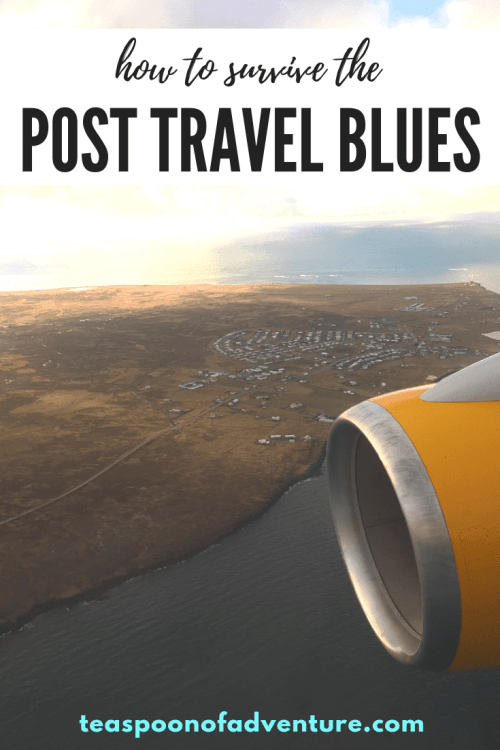 Feeling sad after getting home from an epic trip? Been there! Here's how to survive your post travel blues. #travel