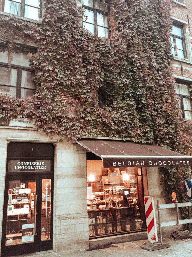 Antwerp storefront