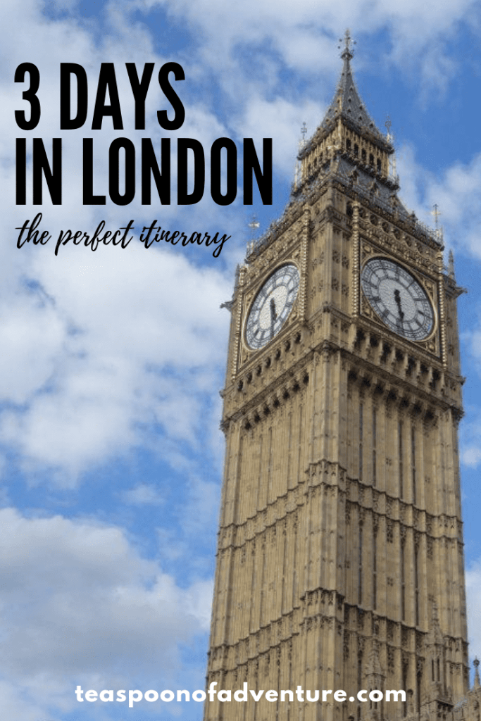 How to spend 3 days in London! #london #england #travel