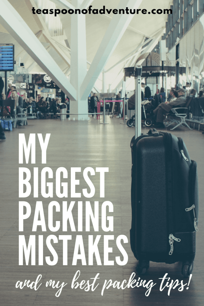 Uh oh! Packing mistakes. We've all been there. Sharing my biggest packing mistakes, best packing tips and weighing in on the big packing debates! #travel #traveltips