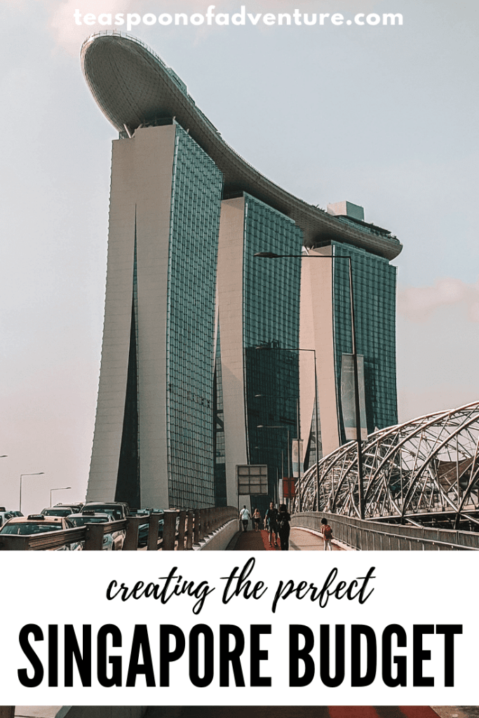 Set your perfect Singapore budget. Find out where to save and where to splurge! #singapore #travel #traveltips #budget