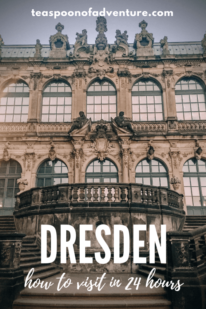 Everything you need to know to visit Dresden, Germany for 24 hours - the perfect weekend trip! #dresden #germany #travel #traveltips