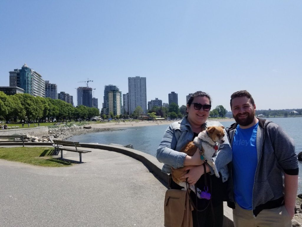 Travel with a dog in Vancouver