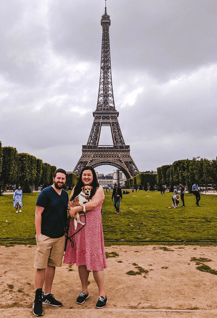 Visiting Paris with a Dog