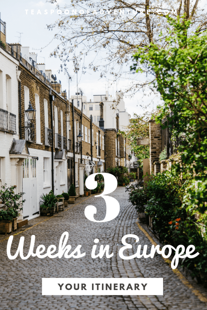 This September we're setting off on 3 weeks in Europe with our moms! From Sweden to Austria and Italy to Paris, here's our full itinerary! #travel #traveltips #europe