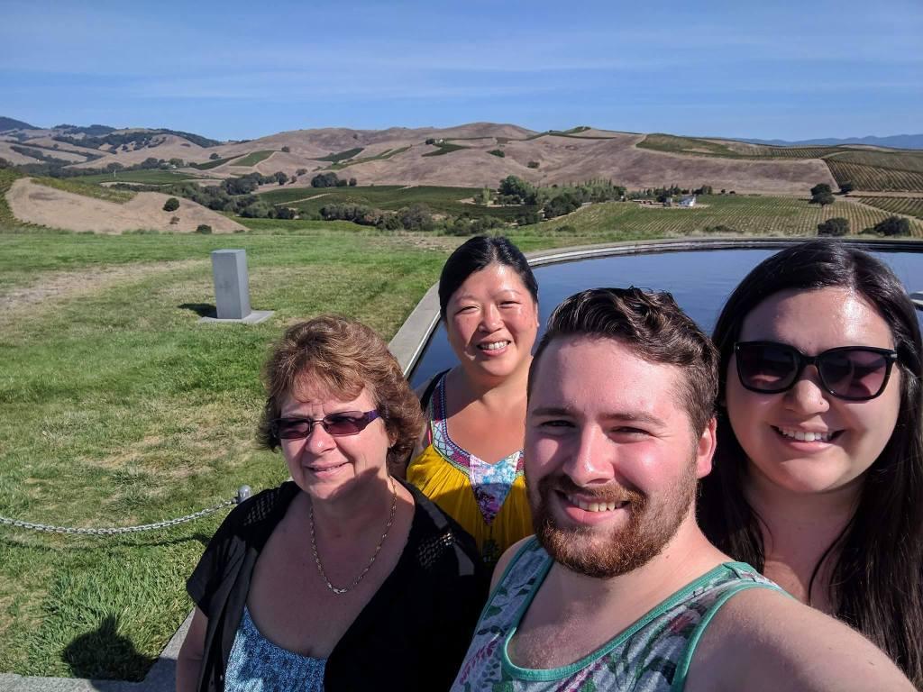 Moms trip 2017 to Napa, California