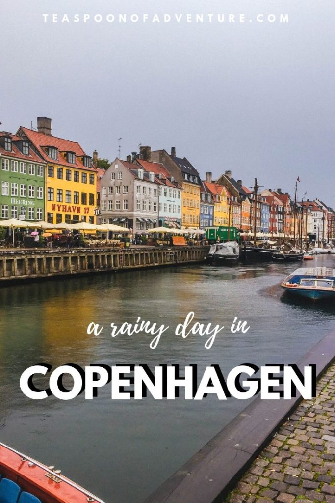 Our first visit to the capital of Denmark wasn't in the best weather, but was it still worth visiting? Here's how we spent a rainy day in Copenhagen! #copenhagen #denmark #travel #traveltips #scandinavia #europe