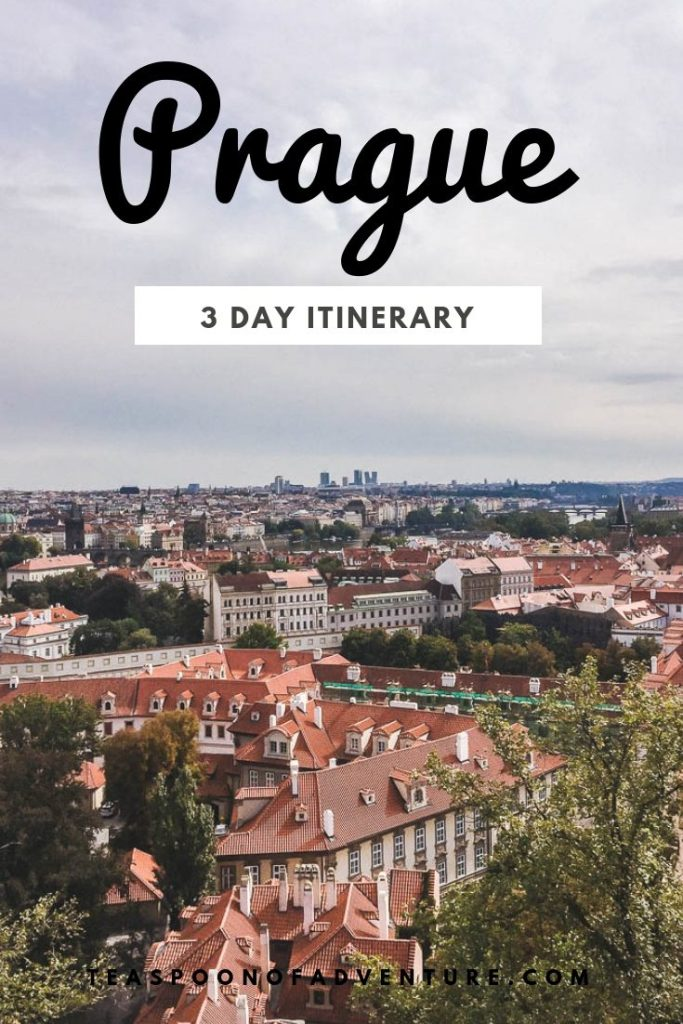 An expat's guide to spending 3 days in Prague - the perfect mix of local hidden gems and tourist must-sees! #travel #traveltips #prague #expat #europe