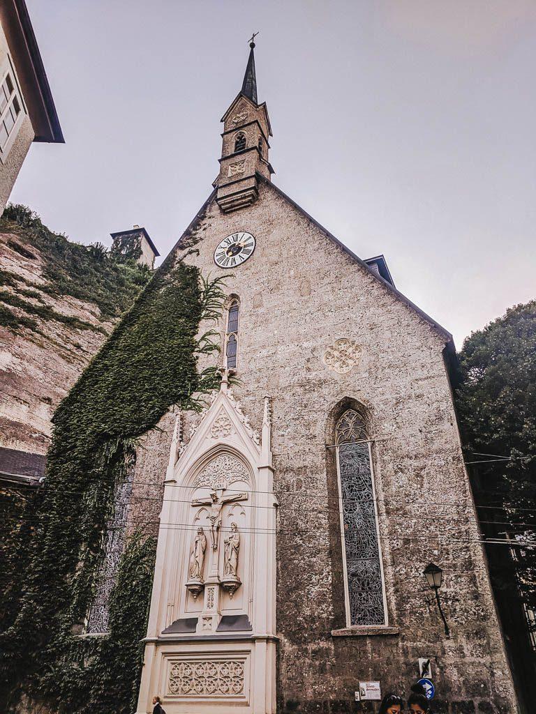 Salzburg Old Town - church
