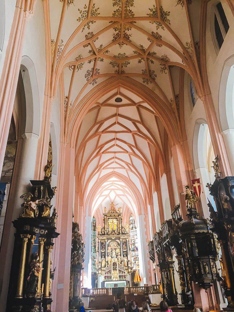 Inside the Basilika St. Michael