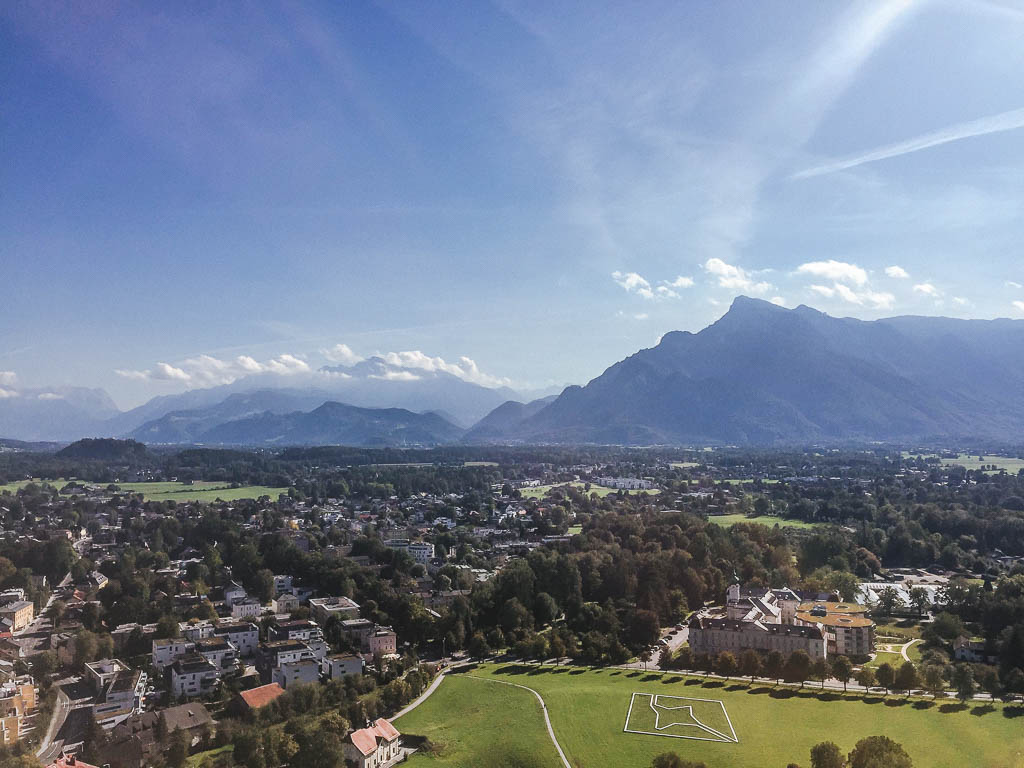Views from Hohensalzburg Fortress