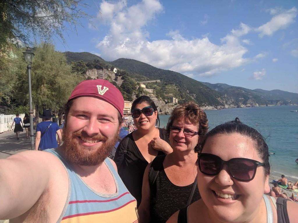 Selfie in Monterosso al Mare
