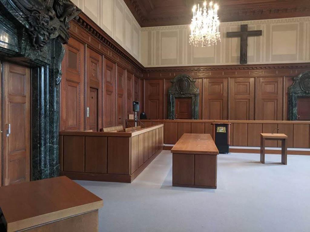 Courtroom 600 in Nuremberg
