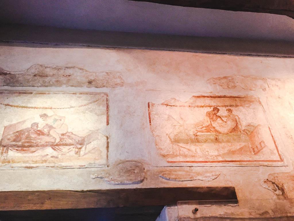 Brothel at Pompeii