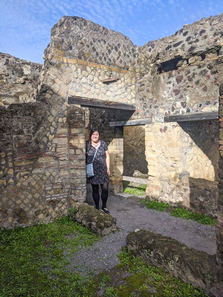 Riana at Herculaneum