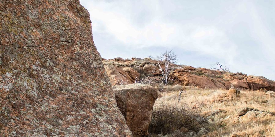 Great hiking is just a few miles away! Quartz Mountain, OK