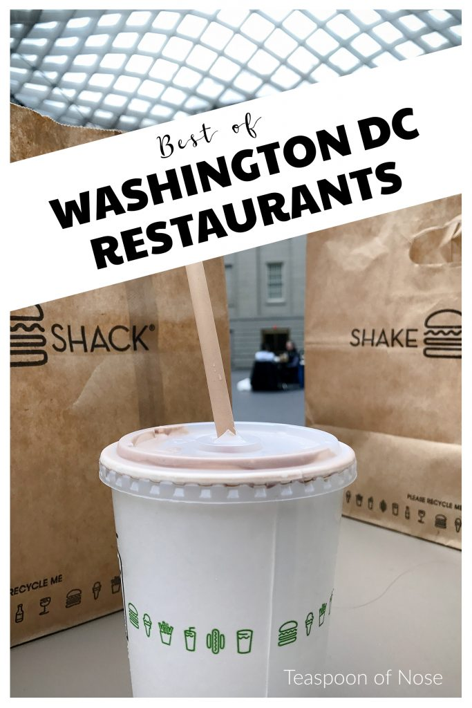 Some favorite Washington D.C. restaurants! | Teaspoon of Nose