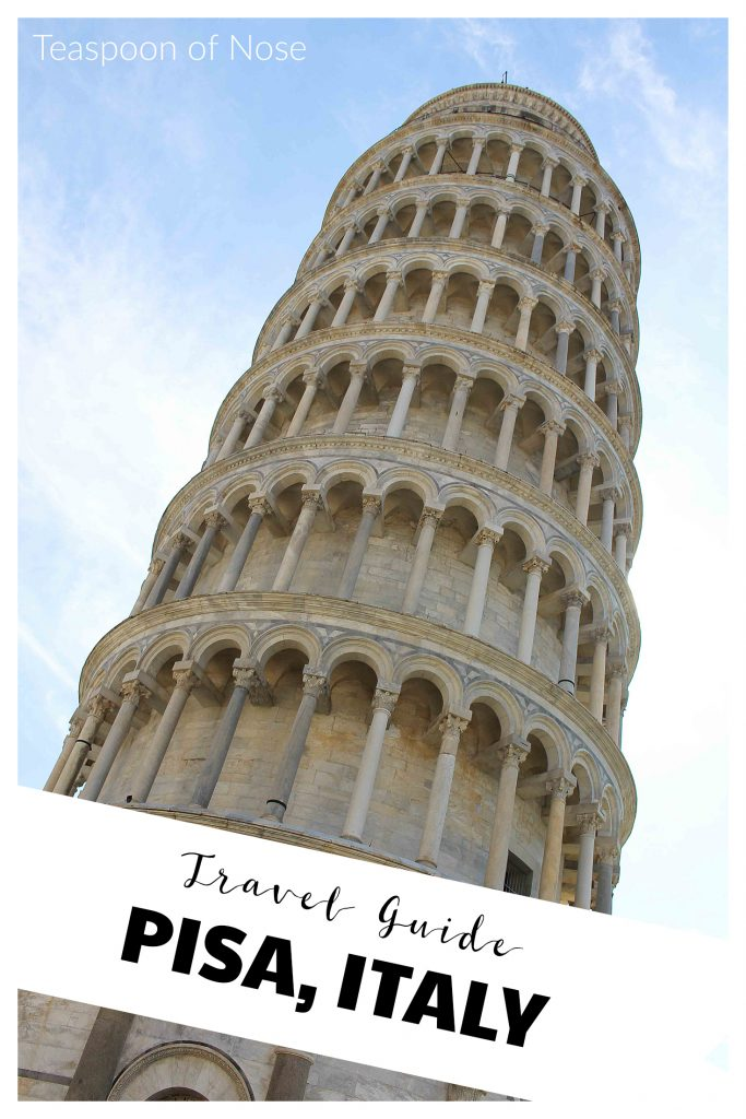How to spend one day in Pisa, Italy! | Teaspoon of Nose