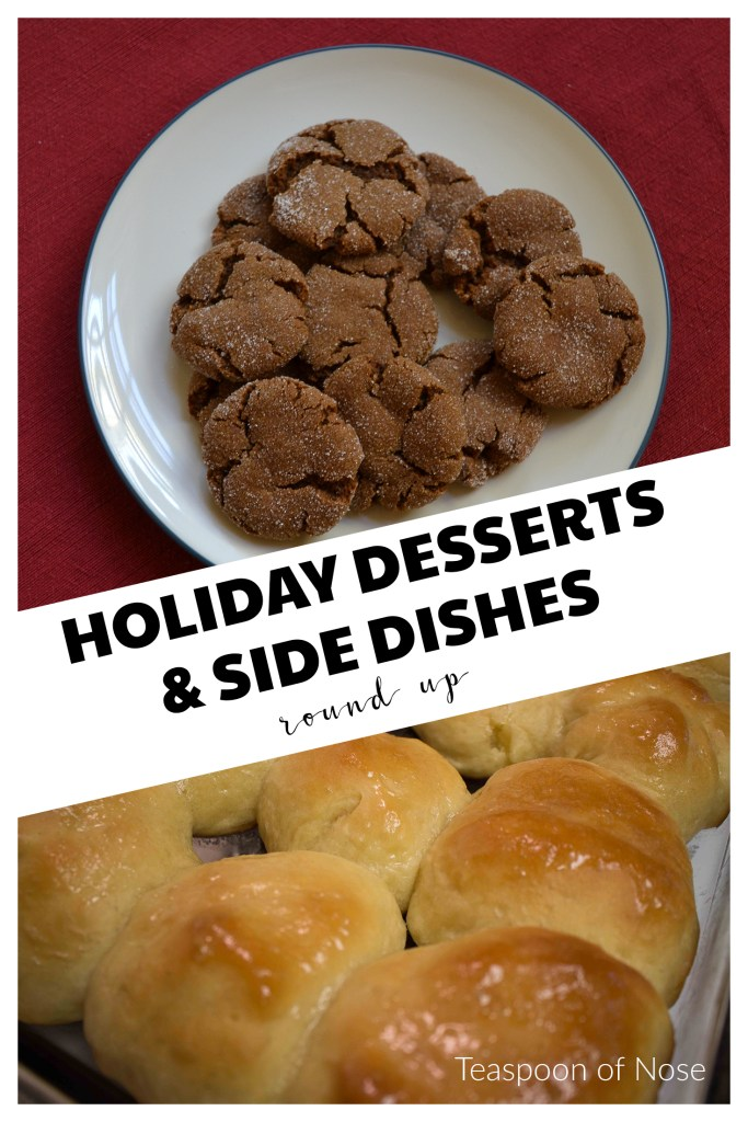 Here's a few of the BEST holiday desserts and side dishes to take to your next party! | Teaspoon of Nose