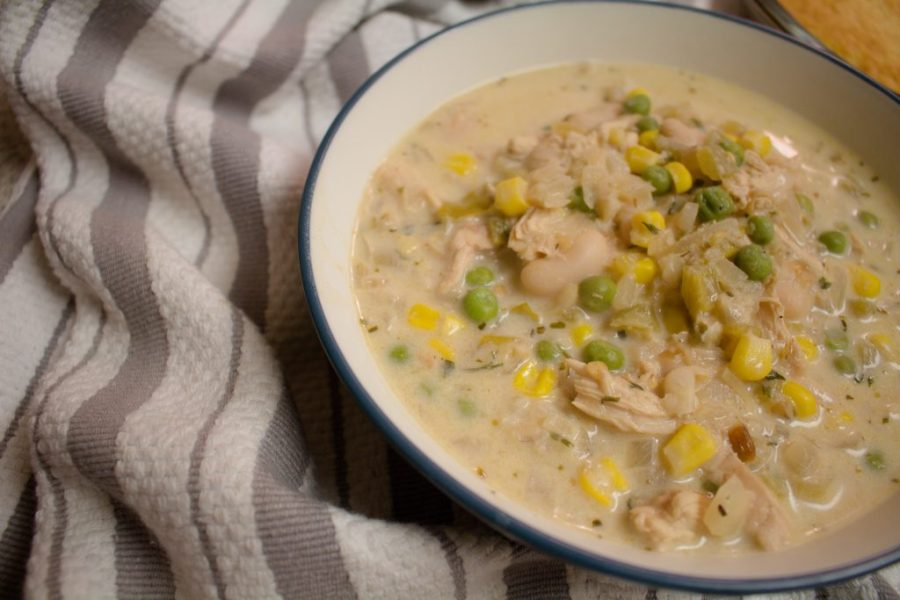 This southwestern take on white chicken chili is hearty and warms you up from the inside out!   Teaspoon of Nose