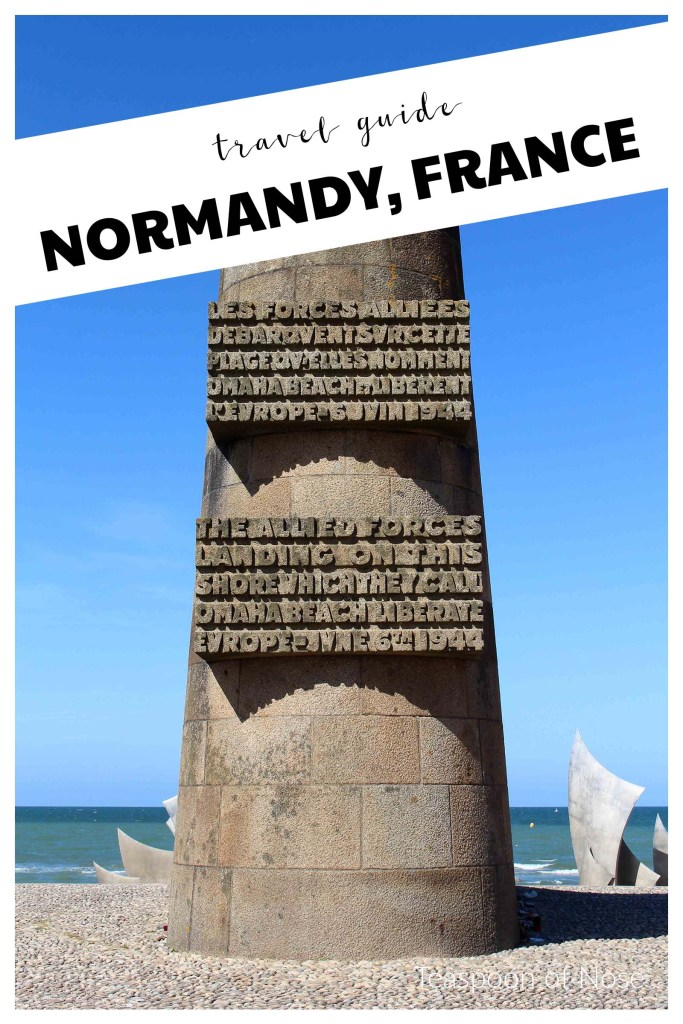 How to explore Normandy! | Teaspoon of Nose