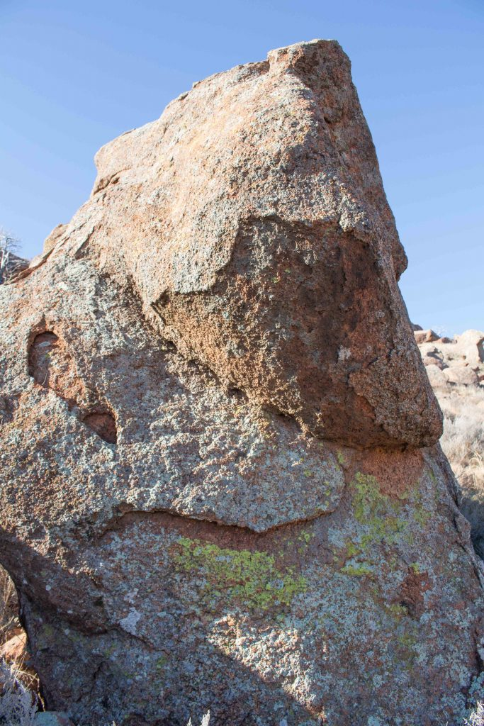 Our closest hiking spot is Quartz Mountain, which is rustic and beautiful!   Teaspoon of Nose