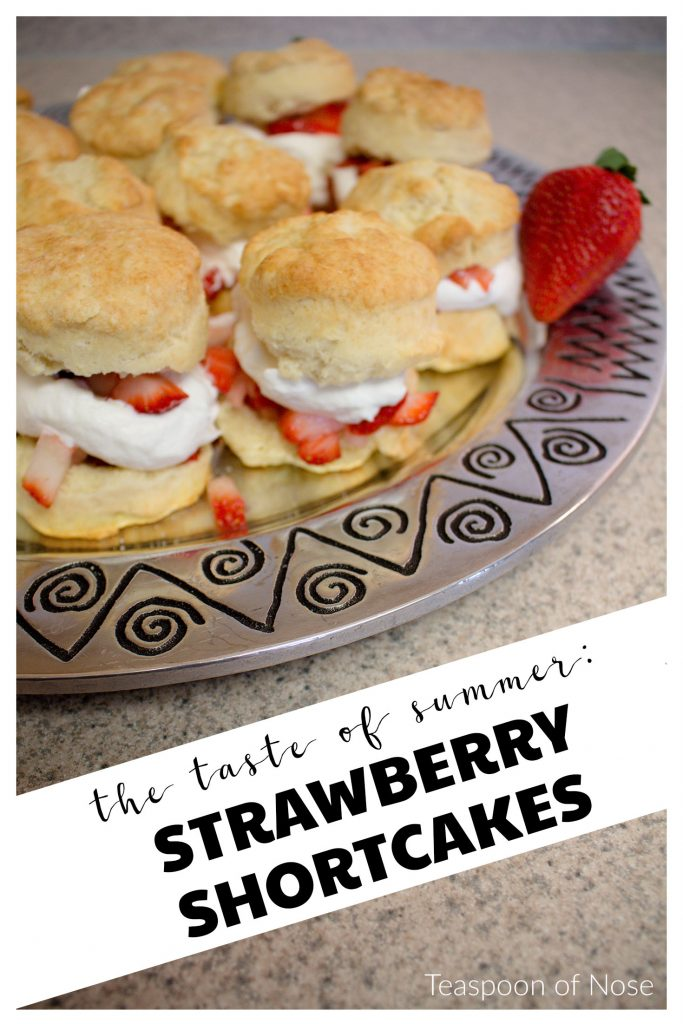 Strawberry shortcakes are such a fresh and sweet dessert, perfect for summer! | Teaspoon of Nose