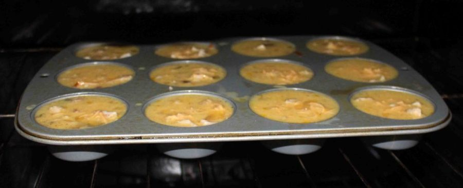 These egg muffins make for a nuturitious easy breakfast on the go or a cute addition to brunch!   Teaspoon of Nose
