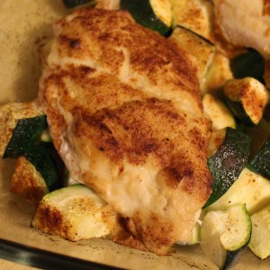 Hummus crusted chicken makes a great effortless weeknight meal! | Teaspoon of Nose